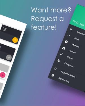 ProGo App - Productive goals 2.1.1 Screen 7