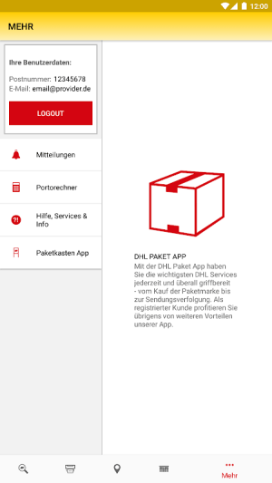 DHL Paket 2.25.1 Screen 13