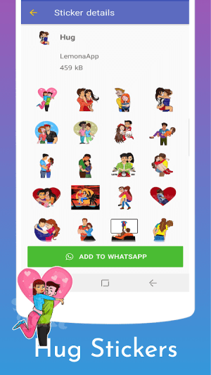 Stickers for WhatsApp - WAStickerApps 1.0.11c Screen 1