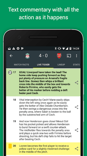 FotMob Pro - Live Football Scores 109.0.7275.20191107 Screen 5