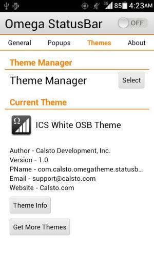 ICS White OSB Theme 1.1 Screen 5