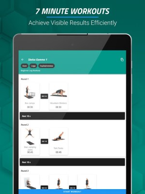 7 Minute Workouts FREE 4.3.64 Screen 6