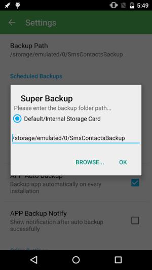 Super Backup & Restore 2.2.70 Screen 6