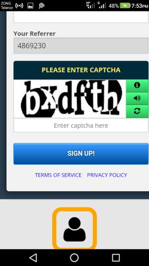 Android Freebitcoin Screen 1