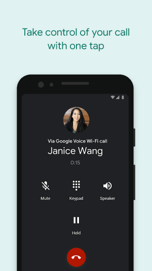 Google Voice 2020.06.291499052 Screen 1