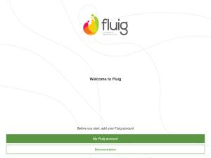 fluig 1.9.9 Screen 2