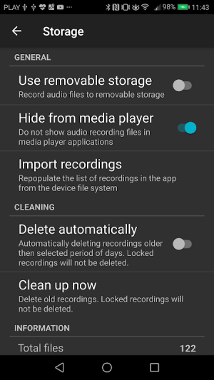 Android Call Recorder Screen 6