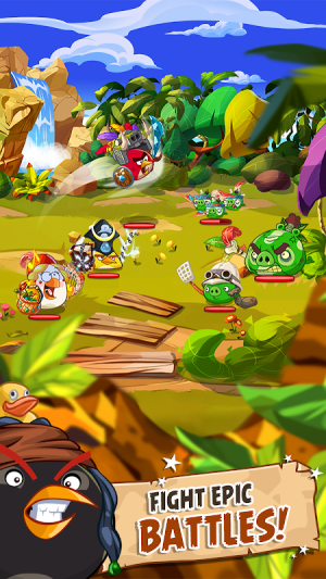 Android Angry Birds Epic RPG Screen 1