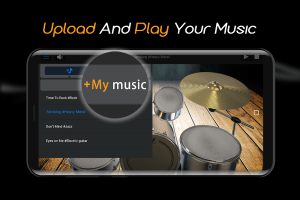 Easy Real Drums-Real Rock and jazz Drum music game 1.2.6 Screen 3