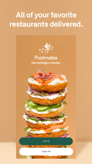 Postmates - Local Restaurant Delivery & Takeout 5.3.9 Screen 1