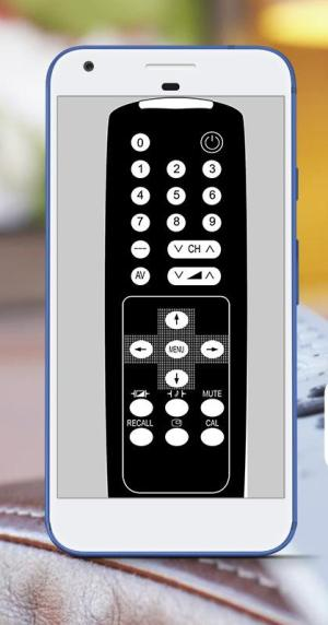 Android Universal  Remote TV Control Screen 1