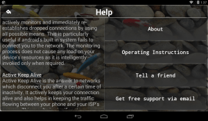 Connection Stabilizer Booster 2.0.1 Screen 11