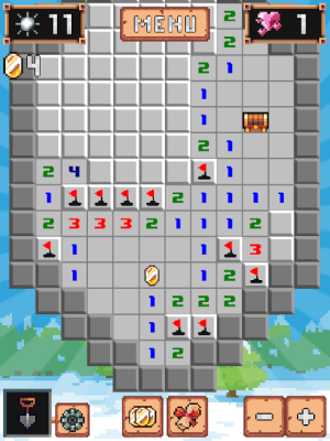Android Minesweeper: Collector - Online mode is here! Screen 4