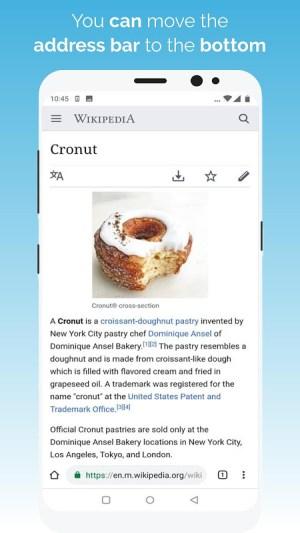 Kiwi Browser - Fast & Quiet Quadea Screen 7
