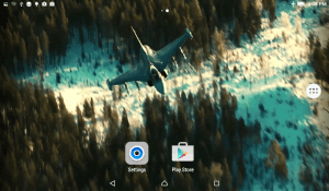 Android Jet Fighter Live Wallpaper Screen 3