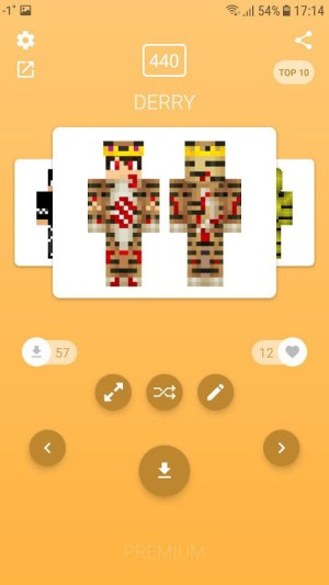 Android Skins for Minecraft PE (NEW SKINS) Screen 9