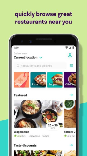 Deliveroo: Food Delivery 3.25.0 Screen 4