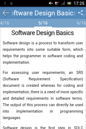 Android Software Engineering Screen 2