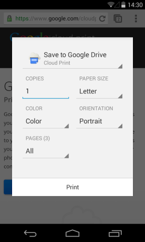 Cloud Print 0.9.2 Screen 19
