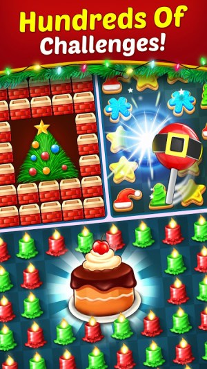 Christmas Cookie - Santa Claus's Match 3 Adventure 3.1.0 Screen 13