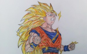How to draw DBZ 3.0 Screen 3