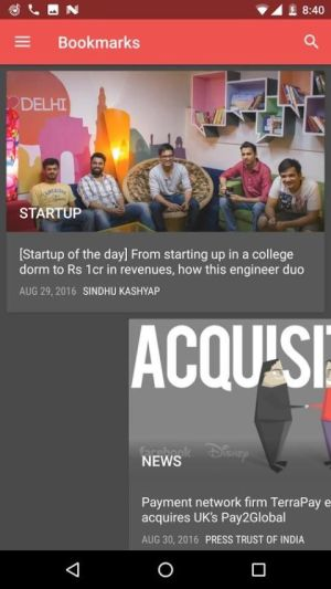 YourStory - Startup Stories in India 3.1.1 Screen 5