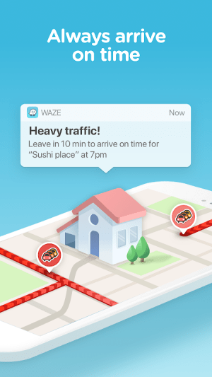 Waze - GPS, Maps, Traffic Alerts & Sat Nav 4.56.0.2 Screen 4