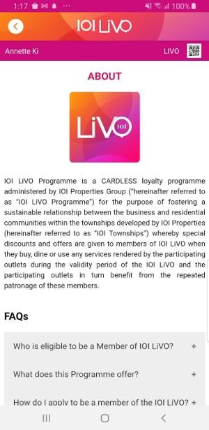 IOI LiVO 2.0.2 Screen 4