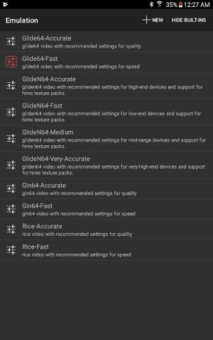 Mupen64Plus FZ (N64 Emulator) 3.0.222 (beta) Screen 6