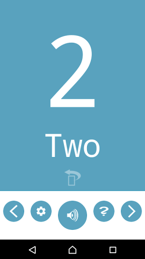 Number Flashcards 1.0.1 Screen 4