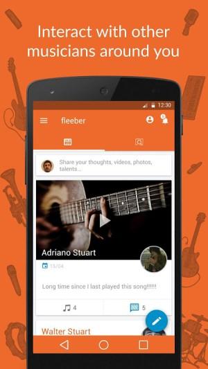 fleeber - Musicians Network 2.8.9 Screen 1