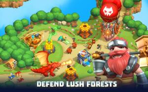 Wild Sky TD: Tower Defence in 3D Fantasy Kingdom 1.31.15 Screen 3