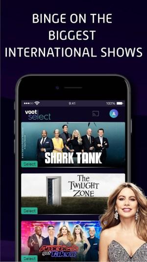 Voot Select Originals, Bigg Boss, MTV, Colors TV 4.0.7 Screen 5
