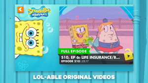 Nickelodeon Play 2.9.0 Screen 1