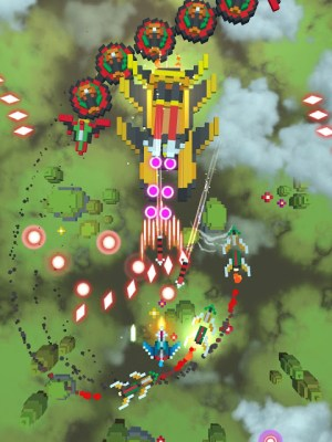 Sky Wings: Pixel Fighter 3D 3.4.3 Screen 5