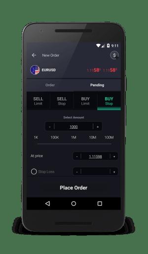 GKFX SIRIX Mobile 1.14.24.00000 Screen 1