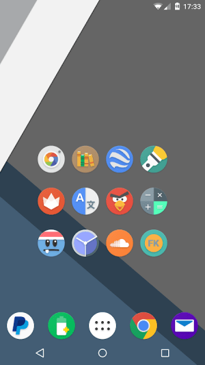 Android Kiwi UI Icon Pack Screen 1
