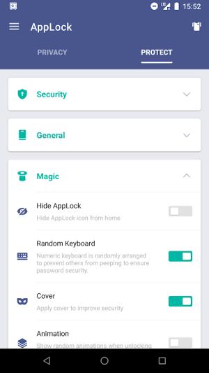 AppLock 2.8.10 Screen 3
