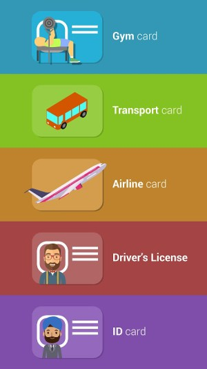 Cards - Mobile Wallet 2.20 Screen 3