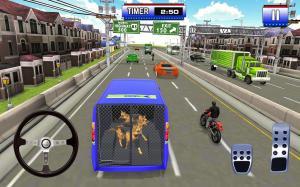 Police Dog Transport Truck Driver Simulation 3D 1.14 Screen 5