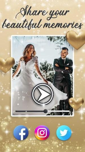 Wedding Slideshow With Music 💝 Video Maker 1.5 Screen 4