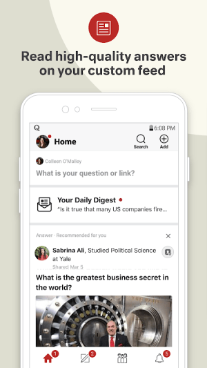 Quora — Ask Questions, Get Answers 3.0.27 Screen 3