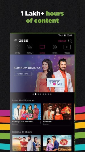 ZEE5 | LIVE TV + Original Movies & TV Series 14.15.9 Screen 3