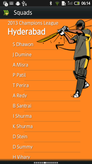 Android Hit Wicket Cricket - Champions League Game Screen 4