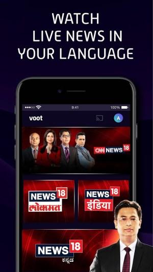 Voot Select Originals, Bigg Boss, MTV, Colors TV 4.0.7 Screen 1