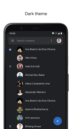 Contacts 3.20.1.301393922 Screen 5