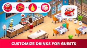 My Cafe: Recipes & Stories - World Restaurant Game 2019.1 Screen 3