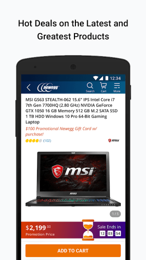 Newegg Mobile 5.8.0 Screen 5