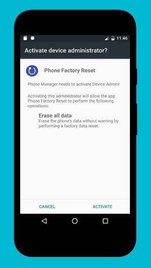 Phone Factory Reset 1.7 Screen 2