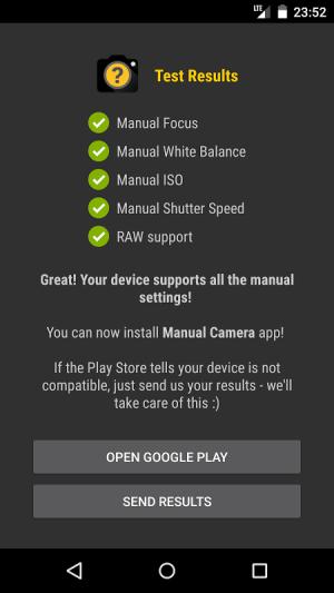 Manual Camera Compatibility 2.5 Screen 1